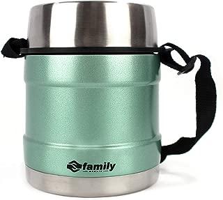 Incluye Cuchara de pl/ástico y un contenedor de Alimentos Mantiene la Temperatura hasta 6 Horas.THULOS TH-TF10 Soluci/ón necesites Comer Fuera de casa Termo para Alimentos de 1 litro de Capacidad
