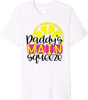 Daddy's Main Squeeze Lemon Graphic Premium T-Shirt