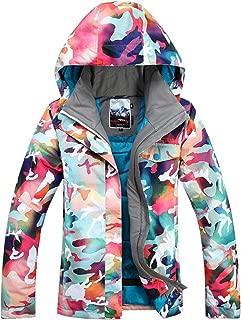 Women's Waterproof Ski Snowboard Jacket Windproof Mountain Rain Coat