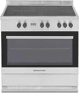 Westpoint 90X90 cm Vitro Ceramic Cooker, Stainless Steel - WCAM-6905M9XD