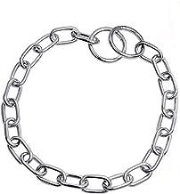 Sprenger 5154704555 Kettenhalsband Mediumkette mit 1 Ring und 1 Sprengerhaken Edelstahl 3 mm f/ür Hunde bis 55 kg 45 cm