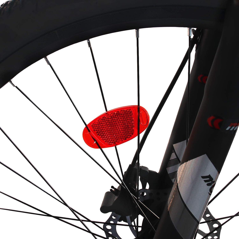 4Pcs Bike bicycle wheel spoke reflectors Reflective safe Mountain Road