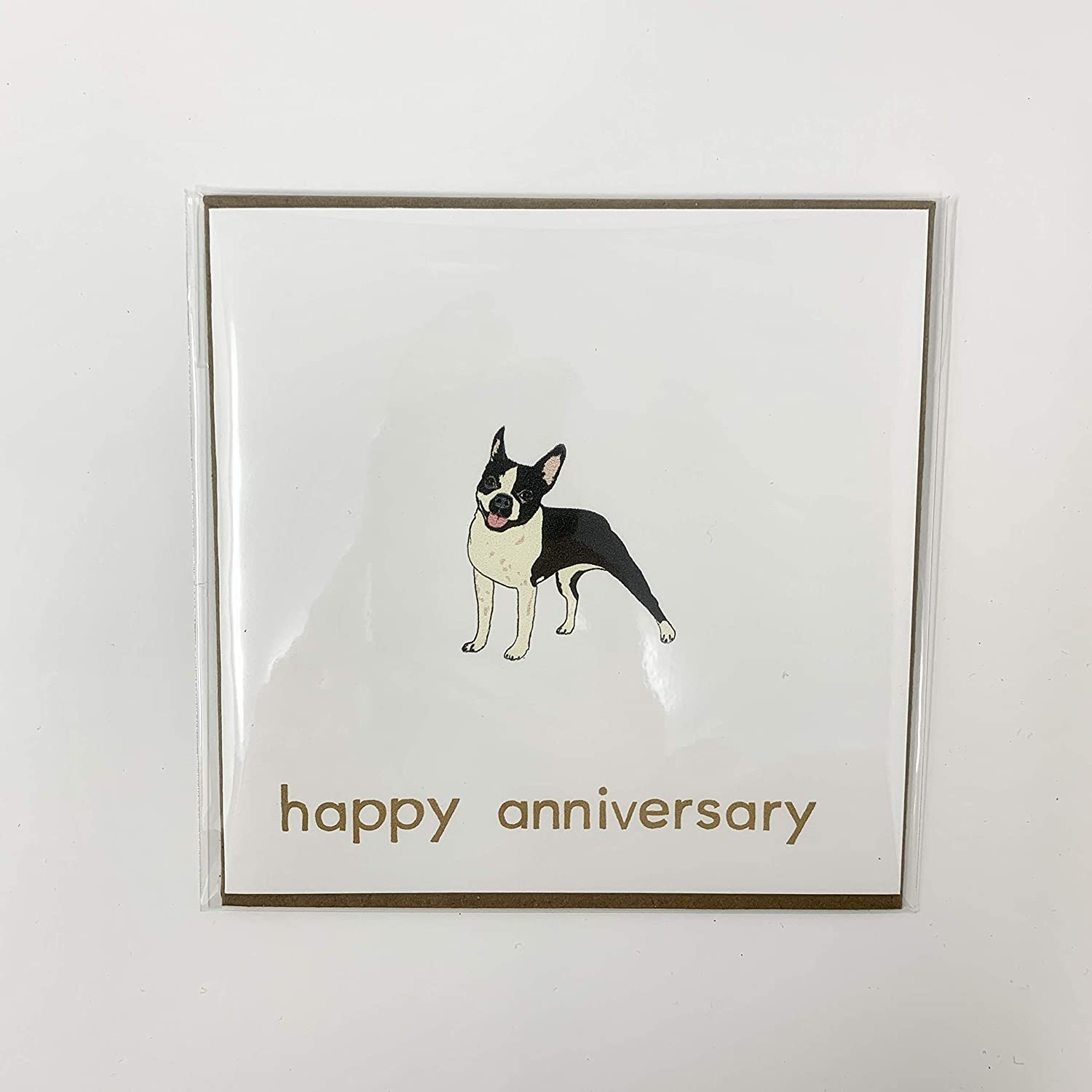 The Doggo Today's only Collection Challenge the lowest price of Japan - Boston Terrier Anniversary Happy Gree Dog