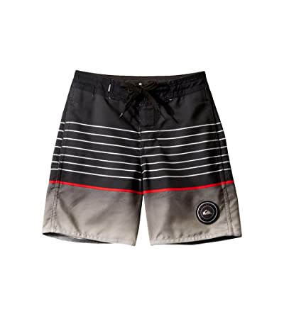 Quiksilver Kids Swell Vision Boardshorts (Big Kids) (Black) Boy