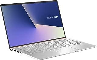Asus Zenbook 14 UX433FN-A5028TS  Ultrabook (Silver) - Intel i7-8565U 4.6 GHz, 16 GB RAM,  512 GB SSD, Nvidia MX150, 14 inches LED, Windows 10, Eng-Arb-KB