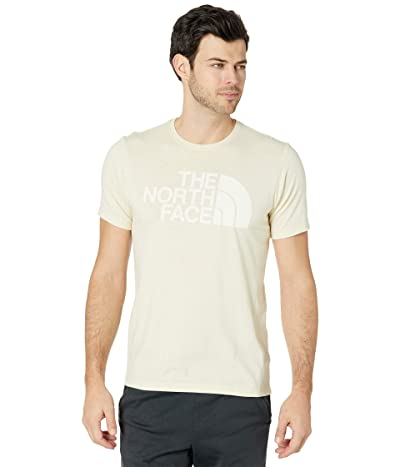 The North Face Short Sleeve Half Dome Tri-Blend Tee (Vintage White Heather) Men