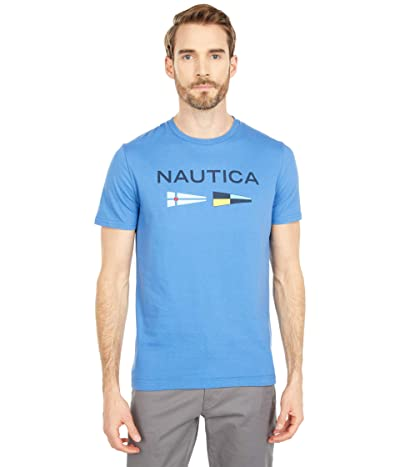 Nautica Signal Flags Graphic T-Shirt (Delft) Men