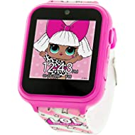 Touch-Screen Smartwatch, Built in Selfie-Camera, Easy-to-Buckle Strap, Pink Smart Watch - Model:...