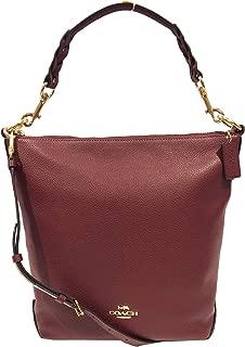 Coach Women's Leather Abby Duffle Shoulder Bag