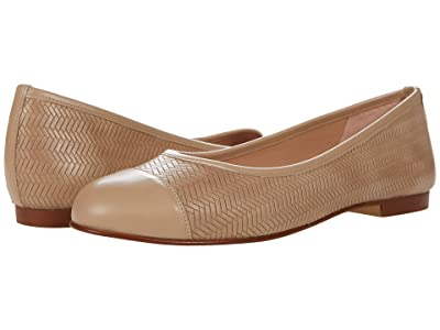 French Sole Hannah (Beige Vermont Nappa) Women
