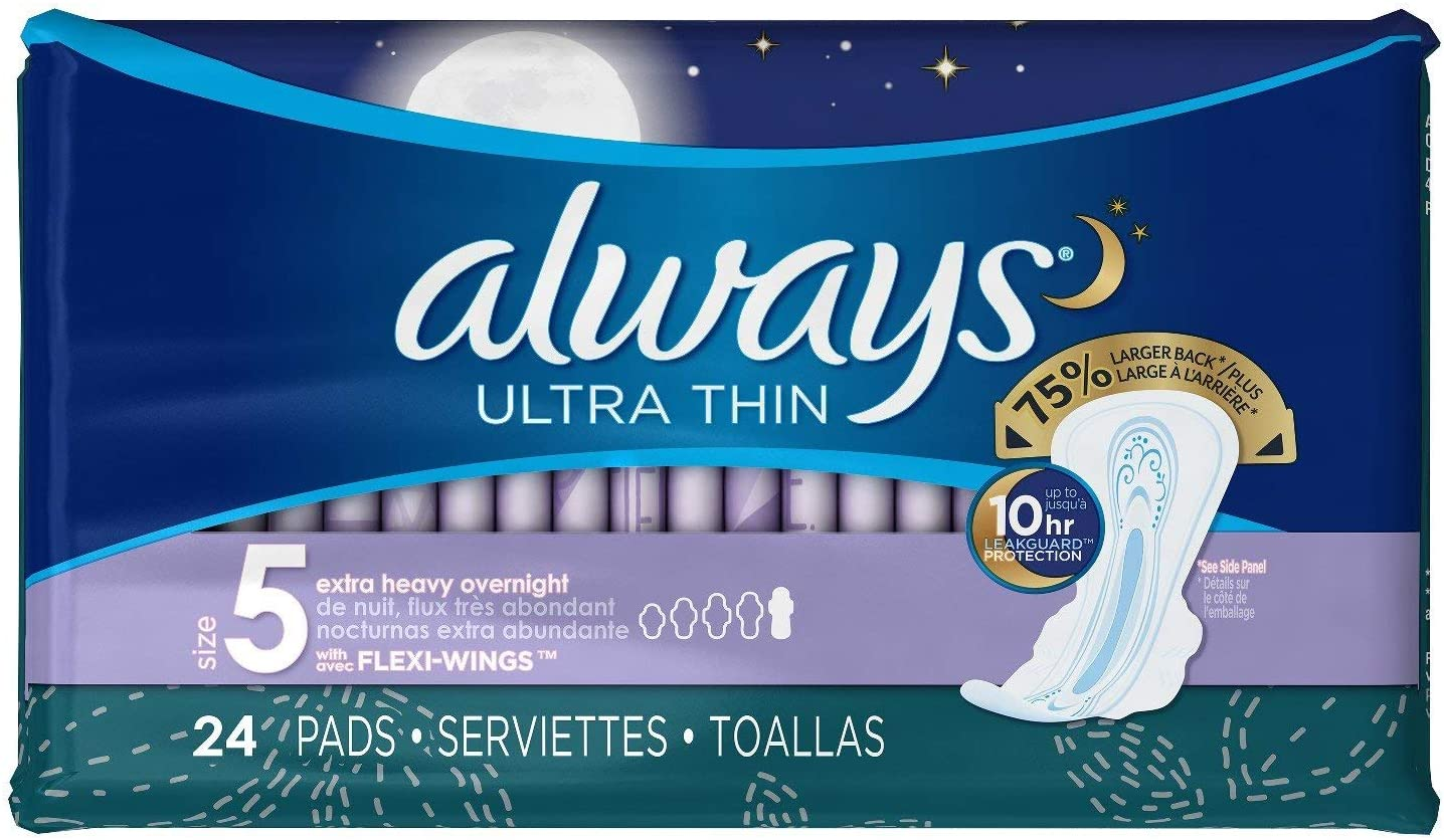 SALENEW very popular Always Pads Challenge the lowest price of Japan ☆ Ultra Thin Size Count 3 Pack 5-24
