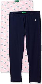 United Colors of Benetton Girl's Capri Regular Casual Pants