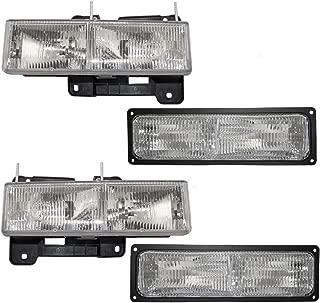 Best 1990 gmc sierra headlight assembly Reviews