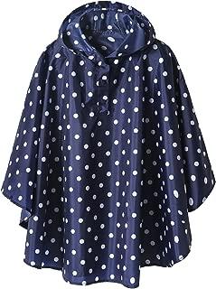 Lightweight Kids Rain Poncho Jacket Waterproof Outwear Rain Coat