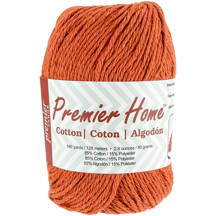 Premier Yarns Home Cotton Yarn, Solid Orange