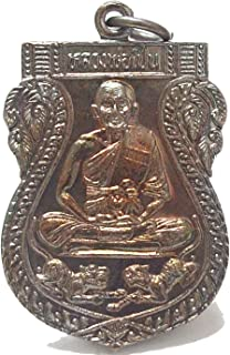 Thai Dharma Jewelry Thai Amulets Collection Thai Amulets Luang Bhor Pern Wat Baangpra Temple Life Protection Buddha Pendant