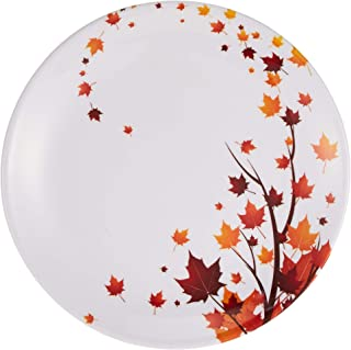 Dinewell 2724570926215 Plate, White, Melamine