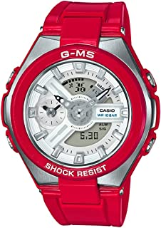 Baby G Women's Automatic Wrist Watch Analog-Digital Display and Resin Strap, MSG400-4A