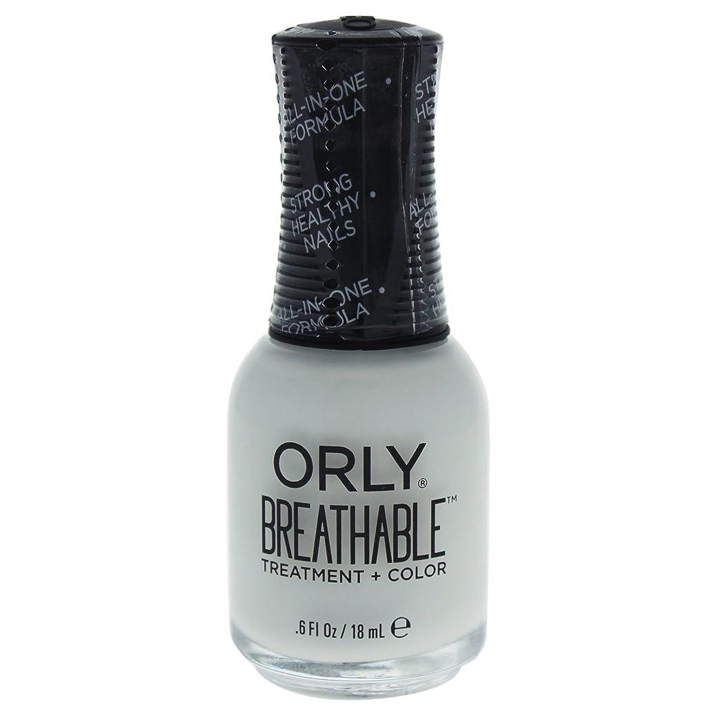 国民七面鳥りOrly Breathable Treatment + Color Nail Lacquer - White Tips - 0.6oz / 18ml