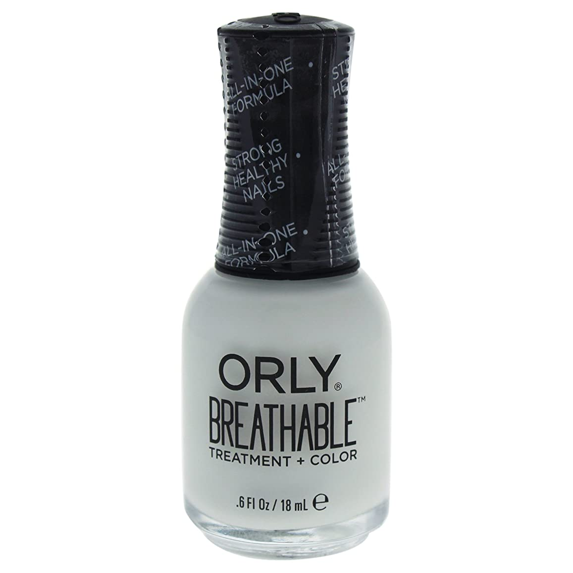 デクリメント狐に向けて出発Orly Breathable Treatment + Color Nail Lacquer - White Tips - 0.6oz / 18ml