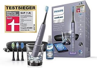 Philips Sonicare DiamondClean Smart Schallzahnbürste HX9924/43 mit 5 Putzprogrammen, 3 Intensitäten, Ladeglas, USB-Reiseet...