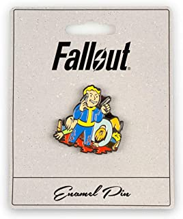 Fallout Better Criticals Perk Pin | Small Metal Enamel Pin | Official Fallout Video Game Series Collectible