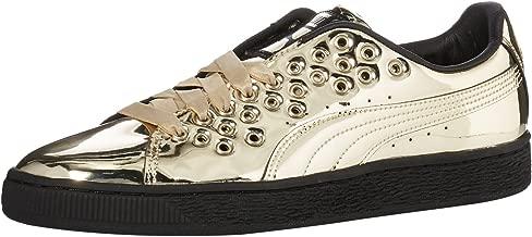 PUMA Women's Basket XL Lace Metal Wn Sneaker