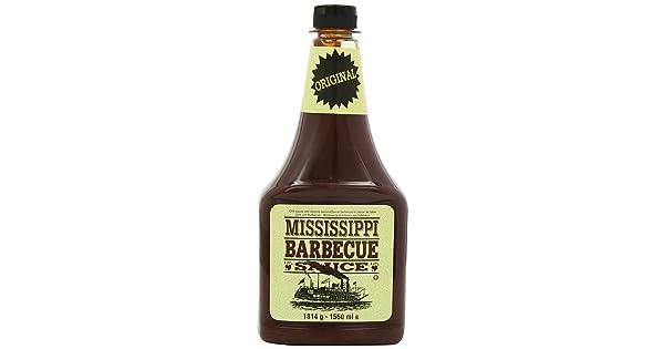 Mississippi BBQ Sauce Original 1814g: Amazon.nl