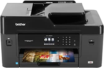 Brother MFC-J6530DW All-in-One Color Inkjet Printer, Wireless Connectivity, Automatic Duplex Printing, Amazon Dash Repleni...