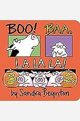 Boo! Baa, La La La! Board book