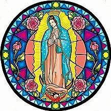 5D DIY Diamond Painting Virgin Mary Wall Sticker 3D Diamond Mosaic Cross Stitch Embroidery 10x10 inch / 25x25 cm