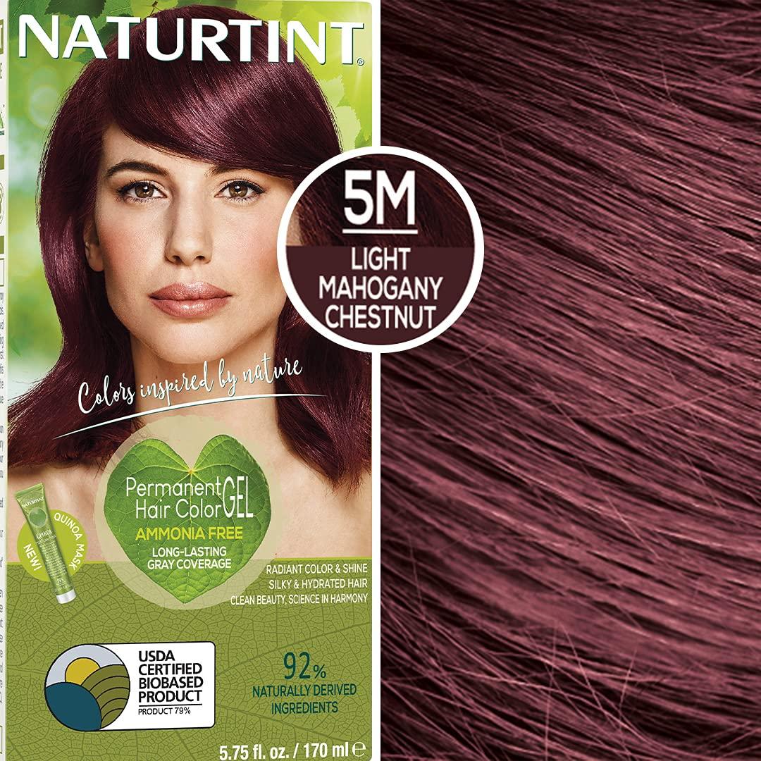 Naturtint Permanent Hair Color 5M Light Mahogany Chestnut (Pack