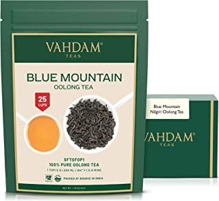 Imperial Oolong Tea Leaves from the Blue Mountains (25 Cups) - Oolong Tea for Weight Loss - Detox Tea, Slimming Tea, Weigh...