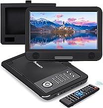 "NAVISKAUTO 12"" Portable DVD Player for Car with HDMI Input, 10"" Swivel Screen, 2500mAh Rechargeable Battery, Car Headrest ..."
