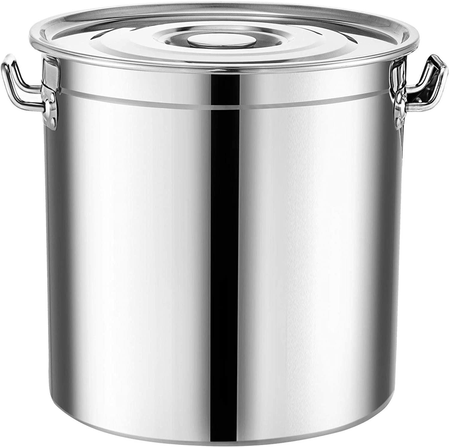 Mophorn New color Brew kettle Stockpot Houston Mall with Stainless Lid Bot Brewin Steel