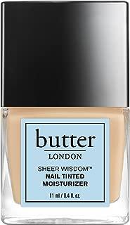 butter LONDON Sheer Wisdom Nail Tinted Moisturizer, Light