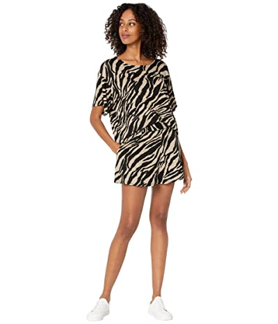 Show Me Your Mumu WFH Set (Taupe Zebra) Women
