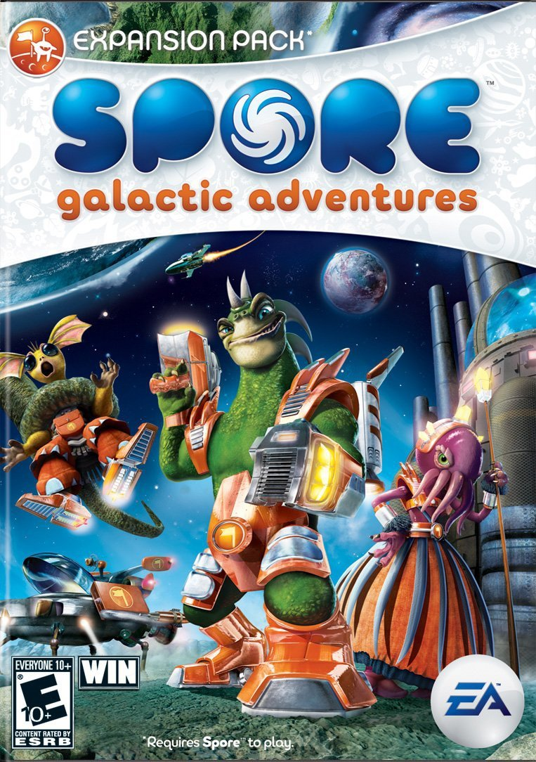 Spore Complete Free Shipping Galactic Adventures overseas Download
