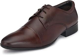 Burwood Men's Bwd 187 Leather Formal Shoes