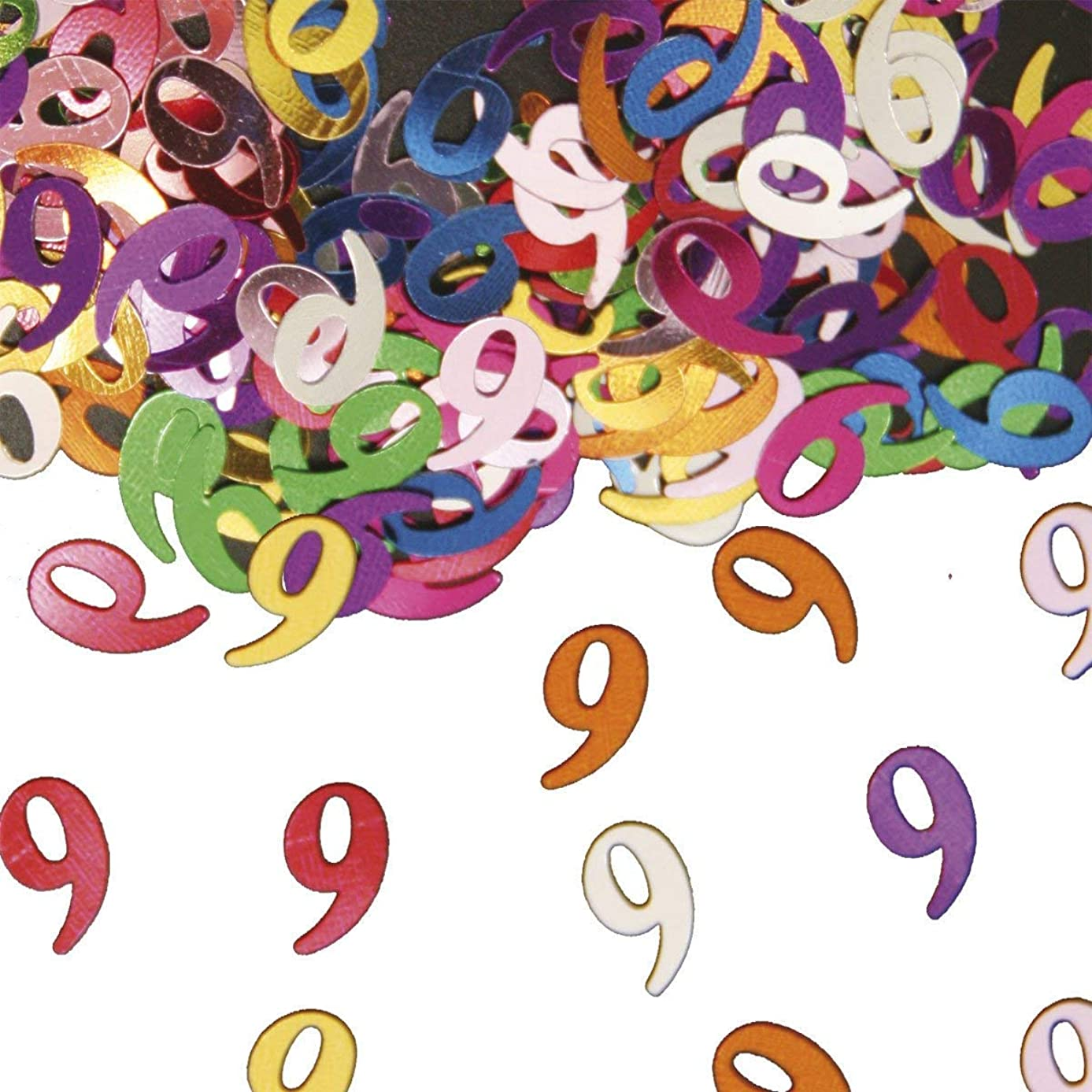 Folat Table Confetti Number