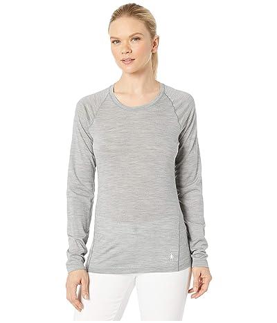 Smartwool Merino 150 Baselayer Long Sleeve (Light Gray Heather) Women