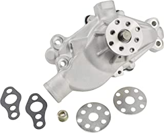 Small Block Chevy Performance Aluminum Water Pump, Short, w/Detailed Instructions