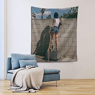 JUDE STEPHENSON Kehlani It was Good Until It Wasn't Tapestry Wall Hanging Tapestry Decoration Wall Art for Bedroom Dorm Living Room Kitchen Home Decor 60x51 Inches