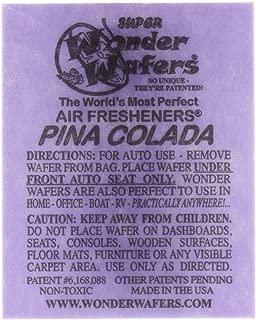 Wonder Wafers 25 CT Individually Wrapped Pina Colada Air Fresheners