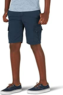 Wrangler Boys Premium Stretch Cargo Shorts with Adjustable Waist