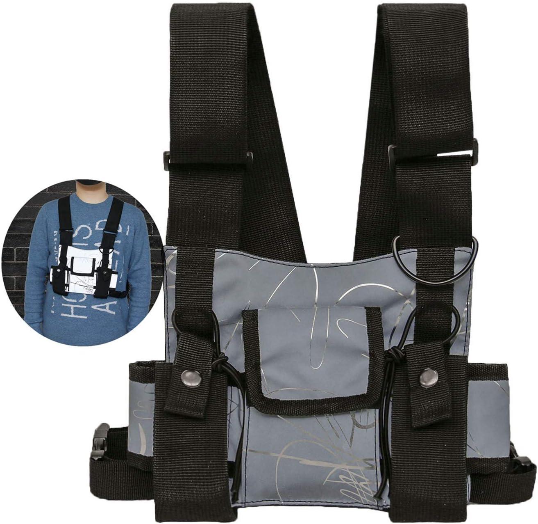 Multifunctional Reflective Vest Universal Chest Bag Radio Alternative dealer lowest price Rig H