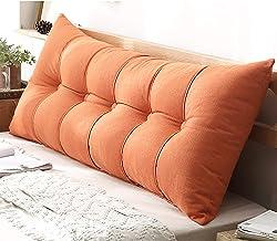 Feelme Rectangular Headboard Reading Body Pillow, Support Pillow Support Headboard Bed Sofa Reading Pillow Pearl Cotton, R...