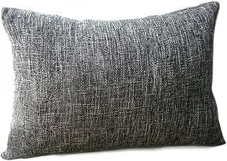Riverbyland Linen Decorative Throw Pillows Cover Dark Gray 17