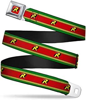 Buckle-Down Seatbelt Belt - Robin