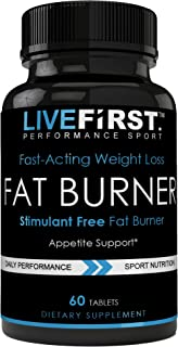 Highly Effective Thermogenics & Safe Diet Pills, Fast-Acting Weight Loss, Fat Burner, Stimulant Free, Powerful Pure Plant Root Extracts, All Natural, Highest Quality Formula
